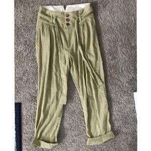 Free People Paper Bag Waist Pants